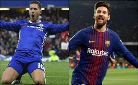 Veja os números de Chelsea e Barcelona na primeira fase. Além disto, saiba o retrospecto do confronto e dados dos craques dos times