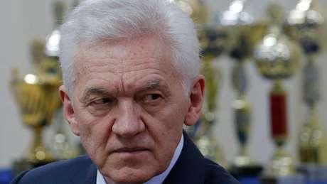 Timochenko, cuja empresa é responsável por dois estádios atrasados, é aliado do presidente Vladimir Putin
