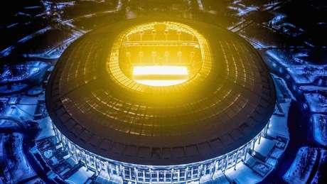 Cinco das 12 arenas, incluindo o estádio Luzhniki, já foram entregues