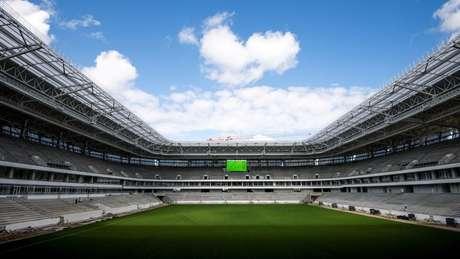 Há dúvidas sobre o futuro de estádios em cidade sem tradição no esporte, como Kaliningrado