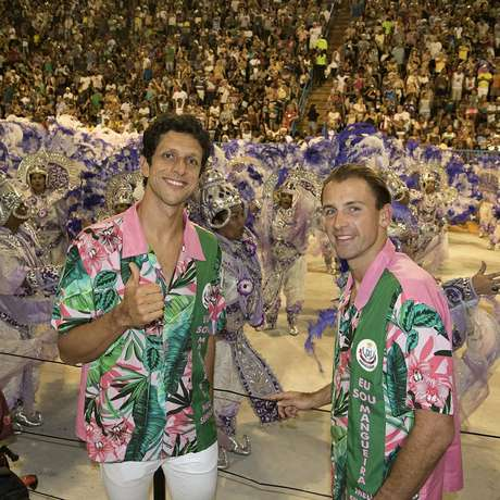 Marcelo Melo e Lukasz Kubot, dupla número 1 do ranking mundial, se jogou no samba