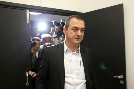 Empresário Joesley Batista no aeroporto de Brasília 07/09/2017 REUTERS/Adriano Machado