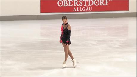 Brasileira passa à final da patinação artística na Coreia do Sul