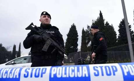 A embaixada dos EUA em Podgorica foi isolada