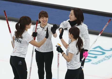 Equipe feminina de Curling do Japão nos Jogos de Inverno