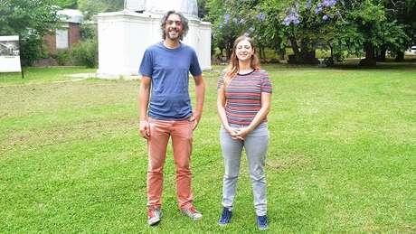 Gastón Folatelli e Melina Bersten lideraram a pesquisa | Foto: Conicet Fotografia