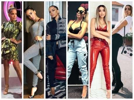 Looks da Anitta em Miami (Fotos: @anitta/Instagram/Reprodução)