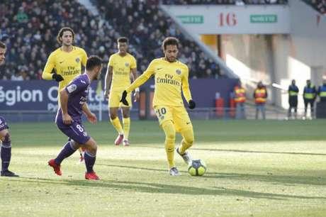 Neymar tem 19 gols no Campeonato Francês (Foto: Divulgação)