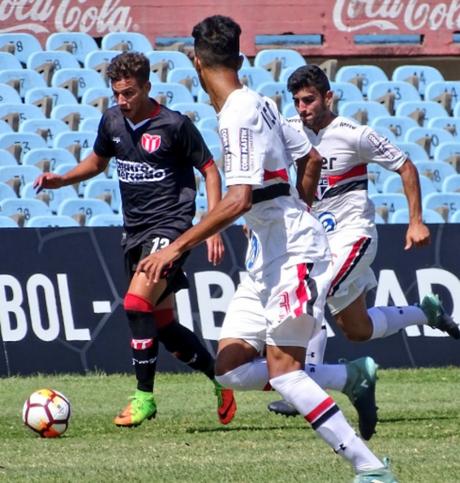 O Tricolor até que jogou melhor em Montevidéu, mas acabou com o quarto lugar na Libertinha (Divulgação/ Conmebol)