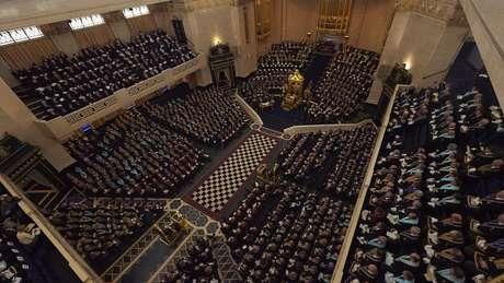 Encontro da Grande Loja na Inglaterra: detalhes do que é dito nas reuniões não são revelados ao público externo   Foto: Divulgação