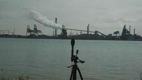 Especialistas têm usado equipamentos para tentar medir o ruído | Foto: Universidade de Windsor