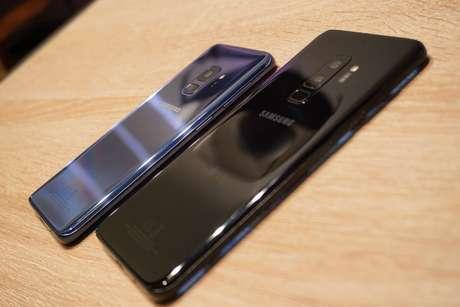 Galaxy S9 Plus vem com duas câmeras traseiras (Foto: André Fogaça/Canaltech)
