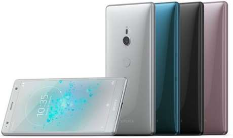 Em quatro opções de cores, Xperia XZ2 foca no design e abandona entrada de fones (Imagem: Divulgação/Sony)