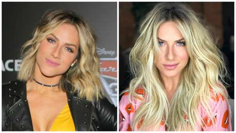 Giovanna Ewbank antes e depois (Fotos: AgNews/Reprodução/Instagram)