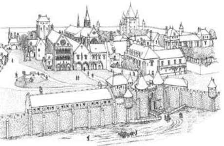 O templo em Paris (séc.XIII)