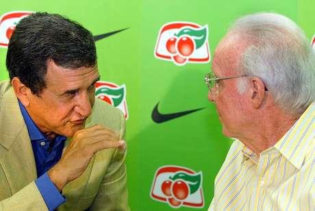 Tanto Parreira como Zagallo comandaram a Seleção em mais de uma Copa