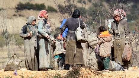 Quase metade de população síria - 23 milhões antes do conflito - foi deslocada pela guerra