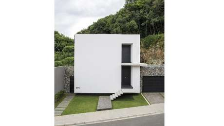 Frente de casas inspire se nesses 50 modelos de fachadas for Casas minimalistas pequenas