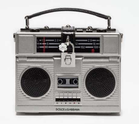 Bolsa-rádio da Dolce & Gabbana (Foto: Reprodução/Dolce&Gabbana)