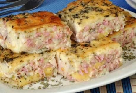 Torta de presunto e queijo: confira a receita prática