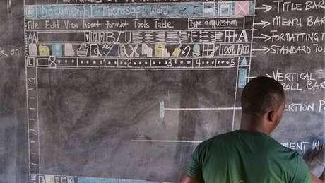O professor se apresenta como Owura Kwadwo, mas seu verdadeiro nome, segundo o site Quartz Africa, é Richard Appiah Akoto.
