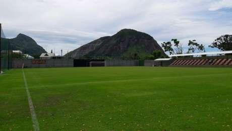 Campo vinha sendo utilizado pelo Vasco desde a pré-temporada (Foto: Internauta)