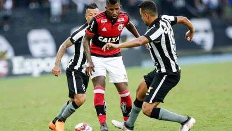 Flamengo e Botafogo se cruzaram pela segunda vez nesta temporada (Andre Melo Andrade/Eleven)
