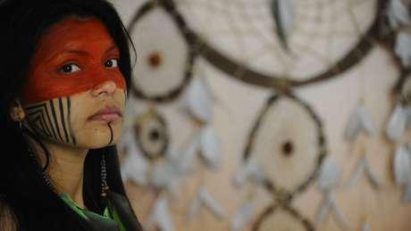 Os guajajara consideram a língua um aspecto importantíssimo para preservação de sua cultura | Foto: Tânia Rêgo/Agência Brasil
