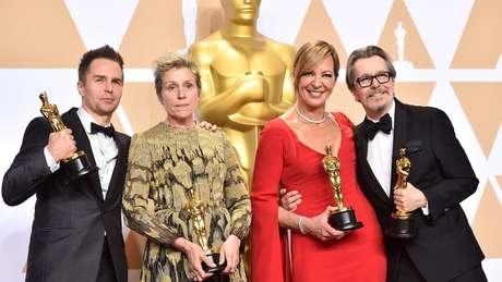Os vencedores dos prêmios de atuação do Oscar deste ano