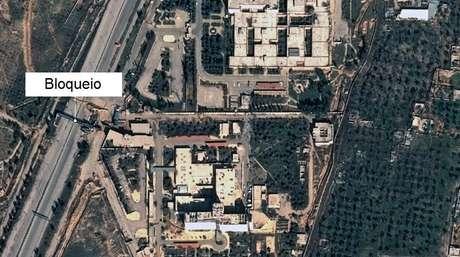 Imagem de satélite