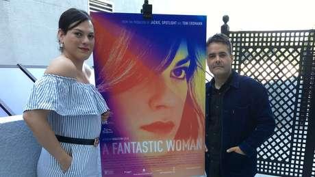 Daniela Vega conta que o diretor Sebastián Lelio a convidou para o papel depois que ela começou a dar uma espécie de consultoria a ele | Foto: Beatriz Díez/BBC Mundo