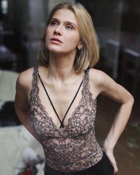 Celina Locks com body Valisère (Foto: Bruna Boechat/Reprodução/Instagram/@celinalocks