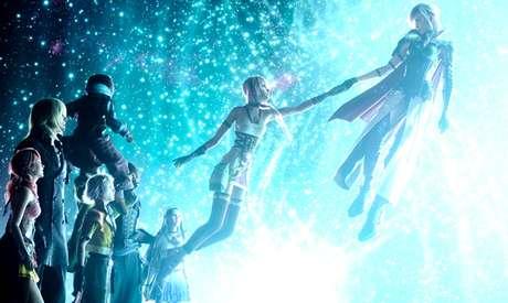Lightning e Serah, também de Final Fantasy