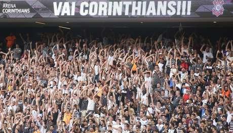 Arena atingirá a marca de 4 milhões de torcedores (Foto: Daniel Augusto Jr./Agência Corinthians)
