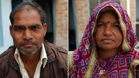 Ganesh e Sita encontraram um marido para sua filha a 200 km de casa | Foto: Peter Leng/Neha Sharma