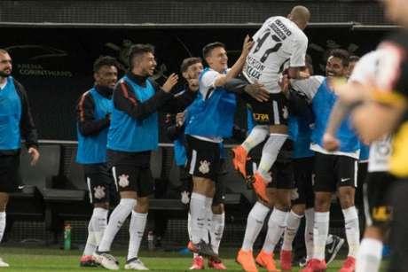 Sheik marcou seu primeiro gol após voltar ao Timão