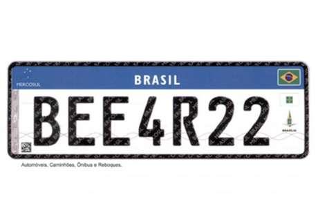 Até o final de 2023, toda a frota de veículos nacionais deverá estar circulando com a nova placa de identificação