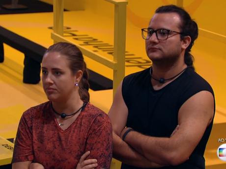 """Patrícia e Diego deixam Prova do Líder de resistência do """"BBB18"""""""