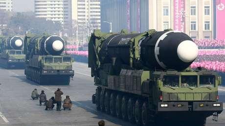 O programa de mísseis da Coreia do Norte tem avançado rapidamente