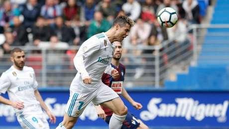 Cristiano Ronaldo fez os dois gols da vitória do Real (FOTO: Real Madrid)