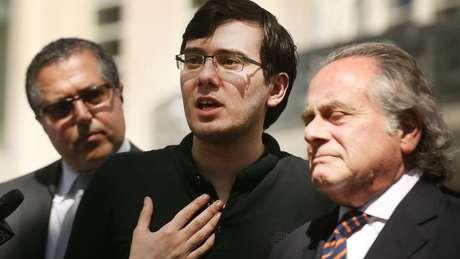 Martin Shkreli se declarou culpado por fraude financeira.