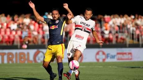 O meia Nenê foi um dos destaques positivos do Tricolor na partida no  Morumbi (Luis 4efbf72ec8c9b