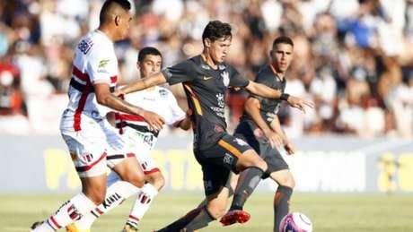 Corinthians venceu o Botafogo-SP