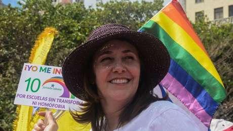 Mariela Castro ganhou notoriedade por defender a causa LGBT