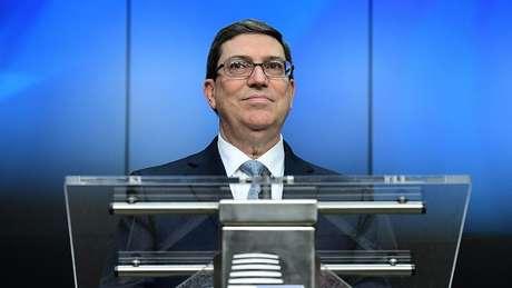 Bruno Rodríguez é ministro das Relações Exteriores