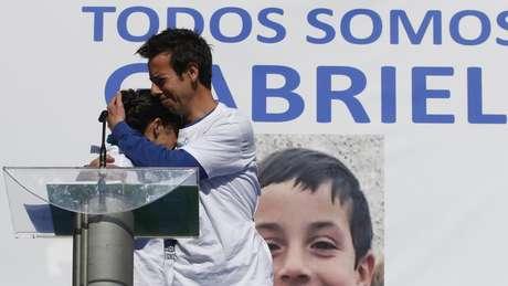 Pais de Gabriel estavam em campanha para tentar encontrar o menino