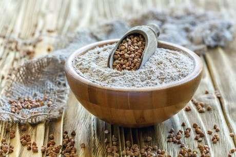 Farinha de trigo-sarraceno