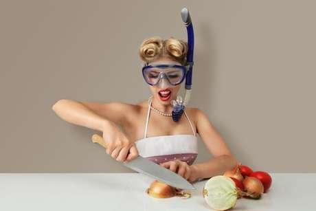 Chega de choro na hora de cortar a cebola