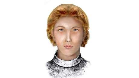 Reconstituição feita pela polícia de Cuba mostra como pode ter sido o rostro de Enriqueta Favez | Foto: Cortesia/Julio César González Pagés