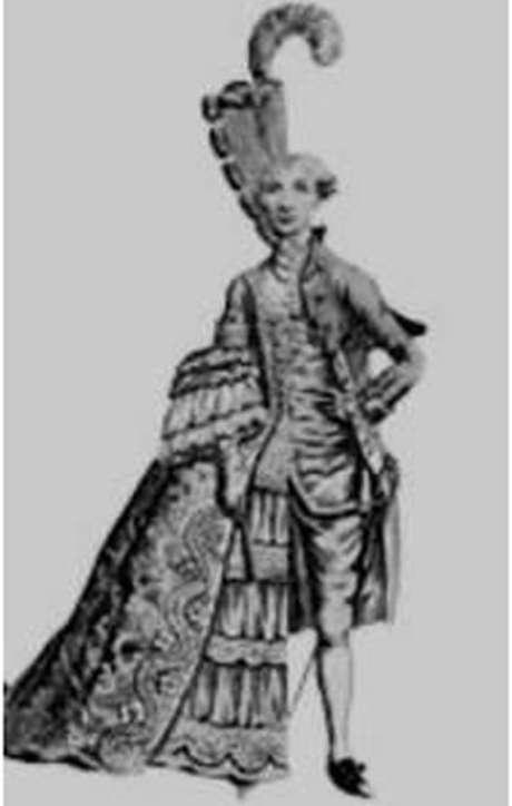 Ilustração mostra o lado feminino e masculino de Enriqueta